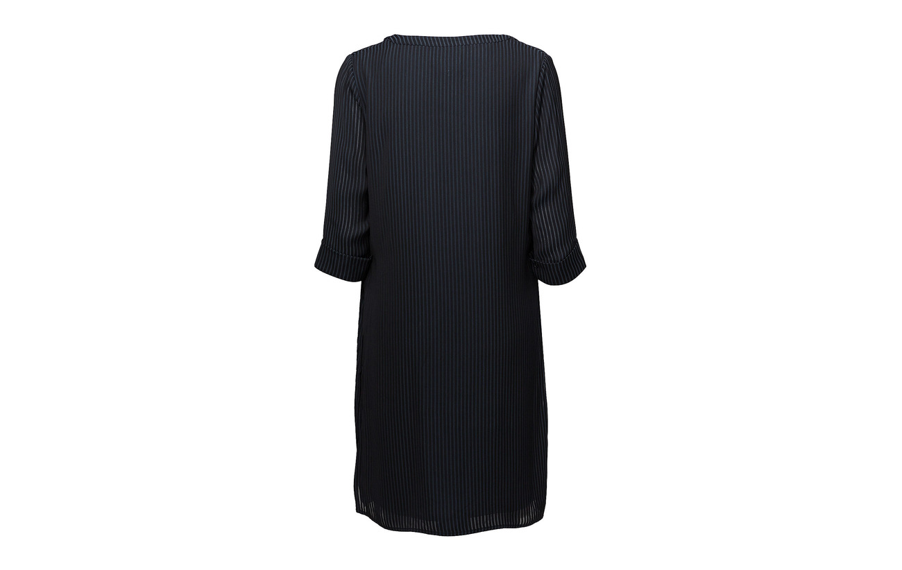 Minus Black Polyester Refna 100 Dress Iris AvvSwYFx