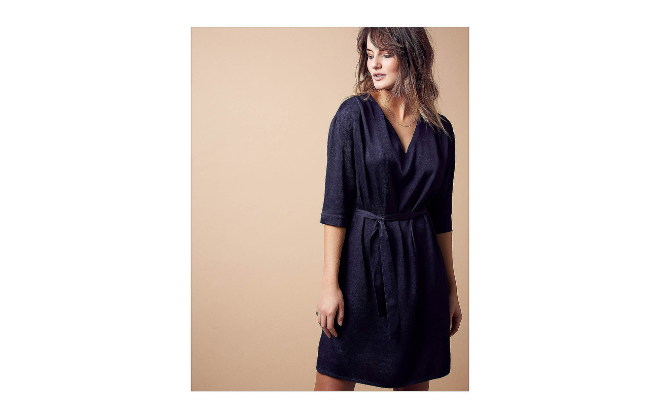 46 Rayonne Black Dress 54 Iris Agnete Minus Viscose WYFpv4Sv
