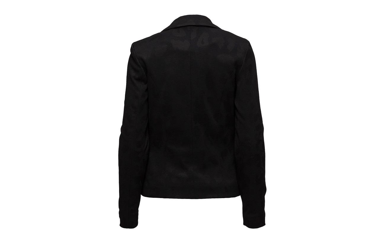 Runa 98 2 Elastane Black Blazer Minus Carmen Polyester 1Twq5