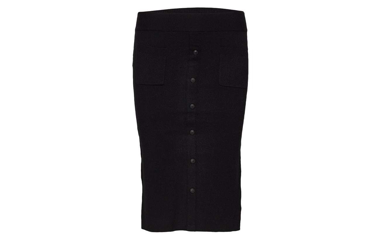 22 Nylon Polyester Minus Skirt Knit 28 Inez 50 Black Viscose 8wa7wv