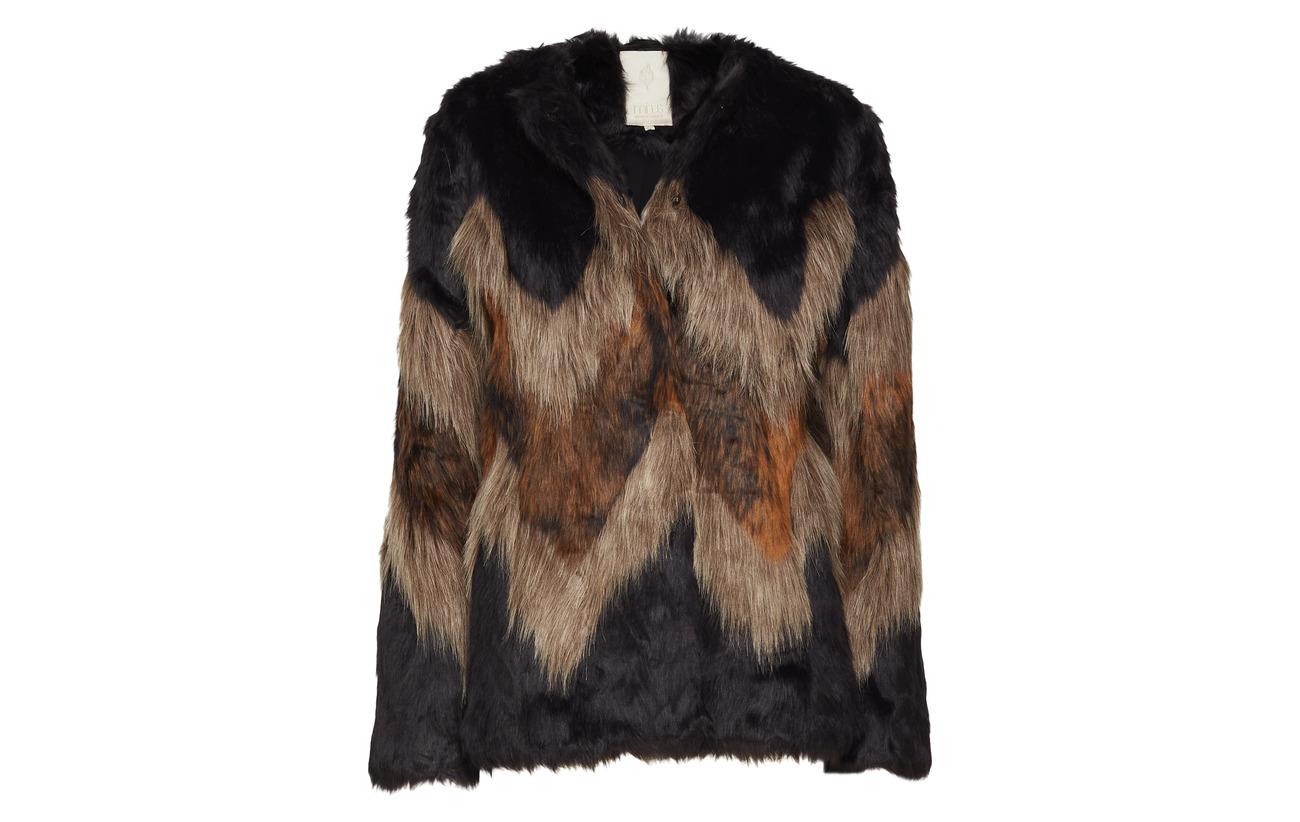 Kensly 95 Wave Minus Acrylique Coat Fur Mohair Pattern 5 OwdqCqXxt