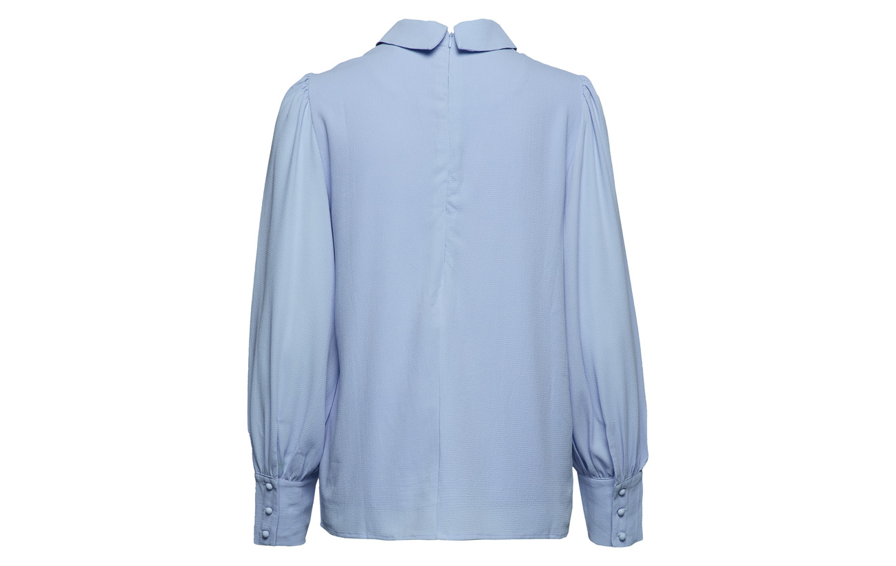 Elastane Blue Madeline Polyester Blouse Icy 95 Minus 5 gTRqw
