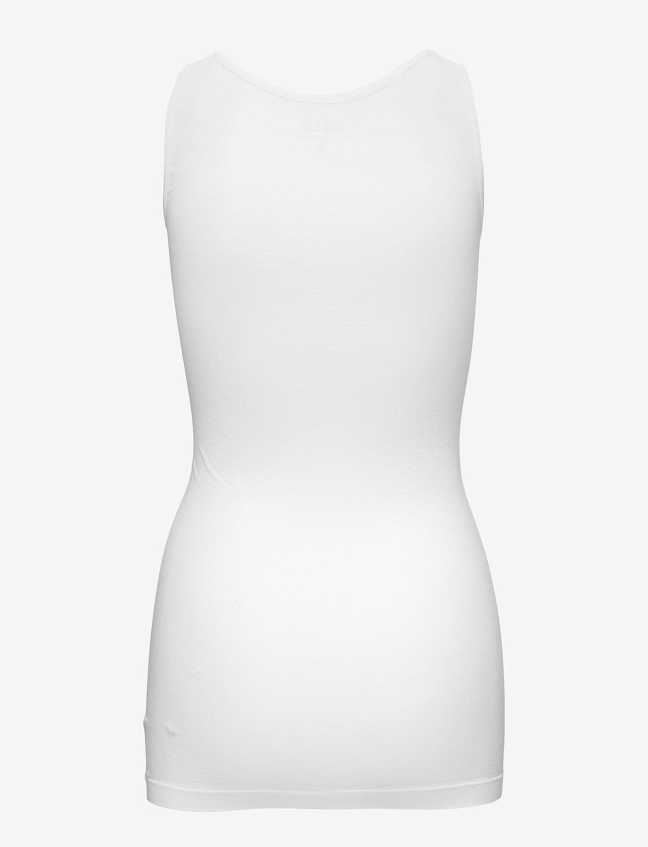 Minus - CLARICE top - sleeveless tops - white
