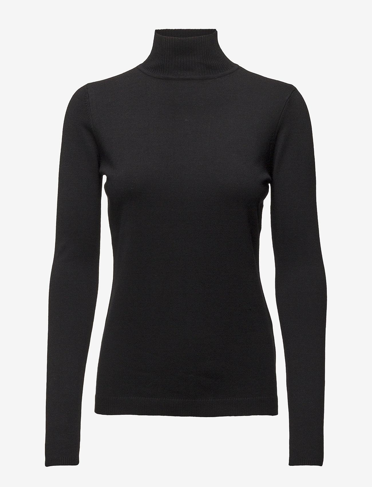 Minus - Lana roll neck knit - turtlenecks - black - 0