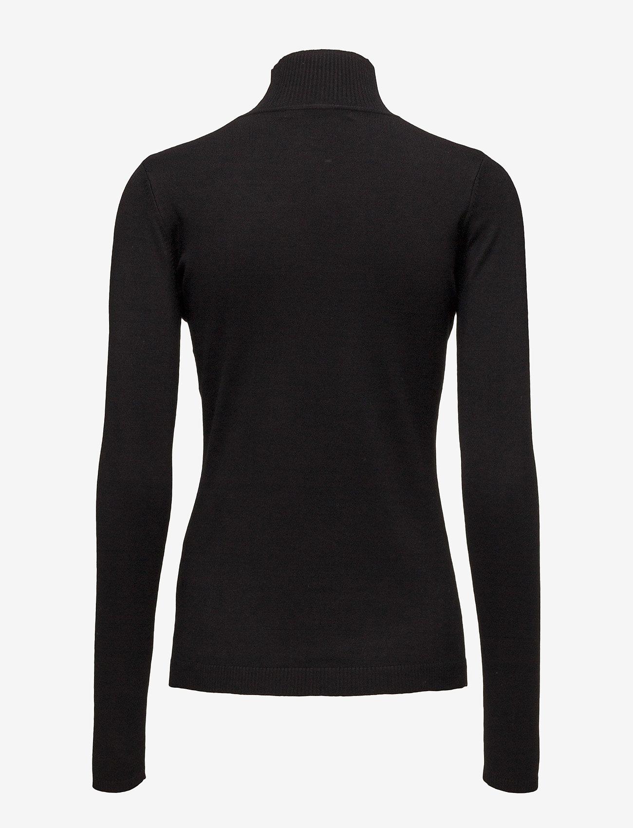 Minus - Lana roll neck knit - turtlenecks - black - 1