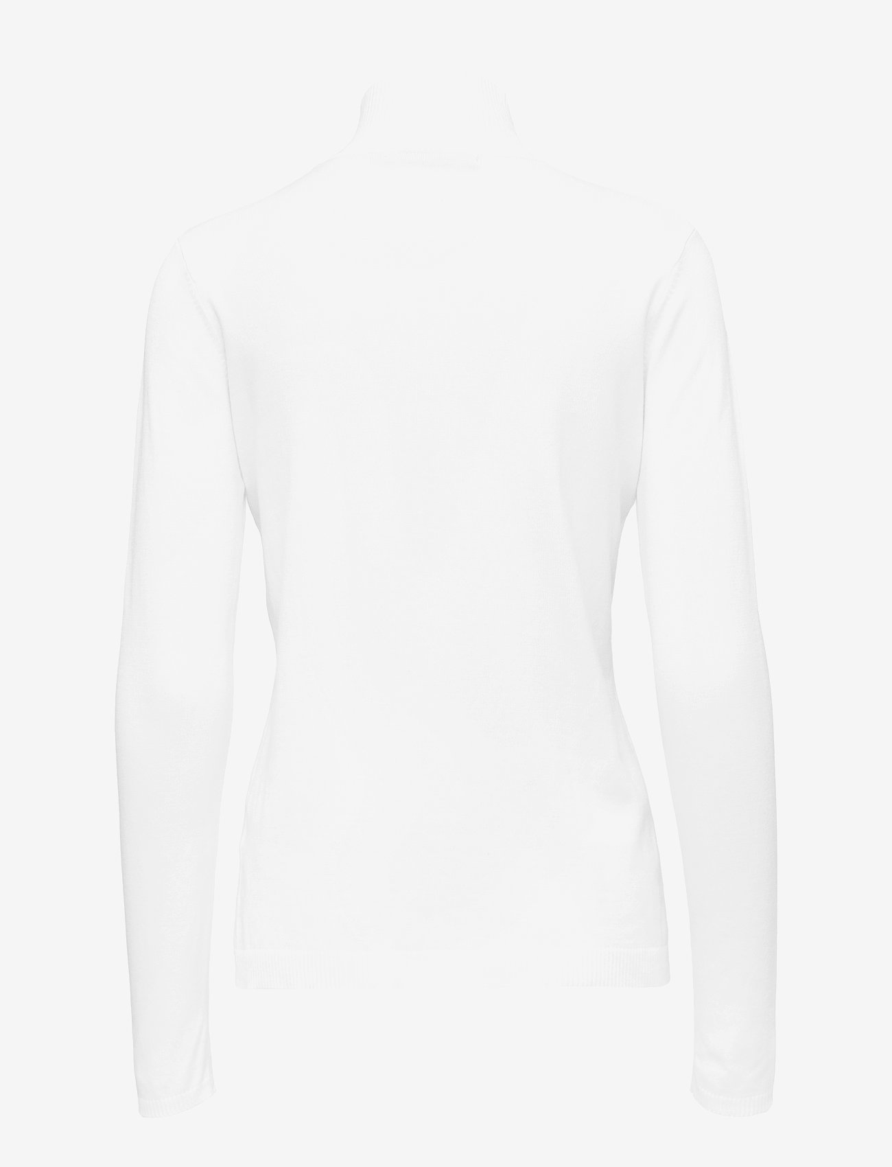 Minus - Lana roll neck knit - rullekraver - broken white - 1