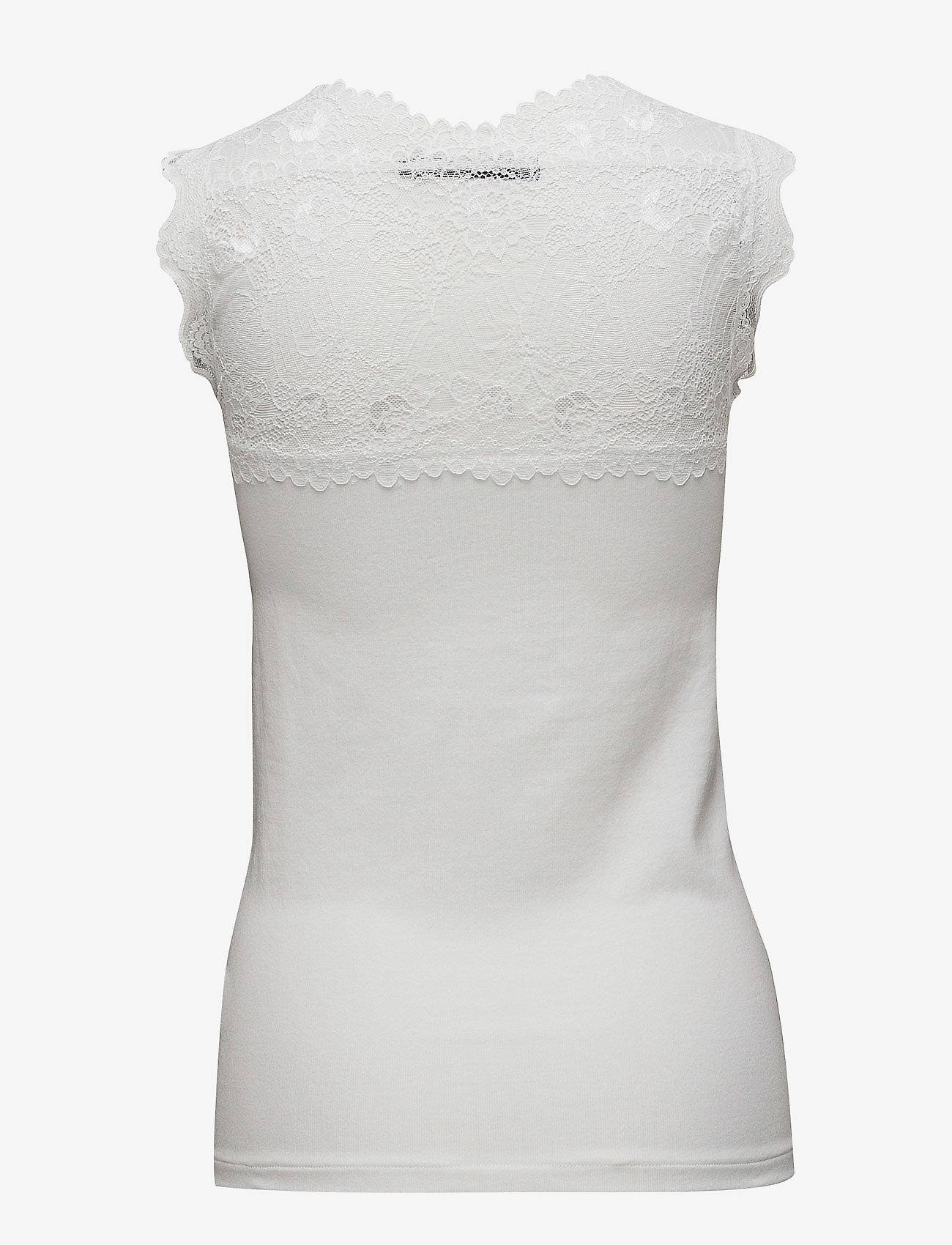 Minus - Vanessa top - topi bez piedurknēm - broken white - 1