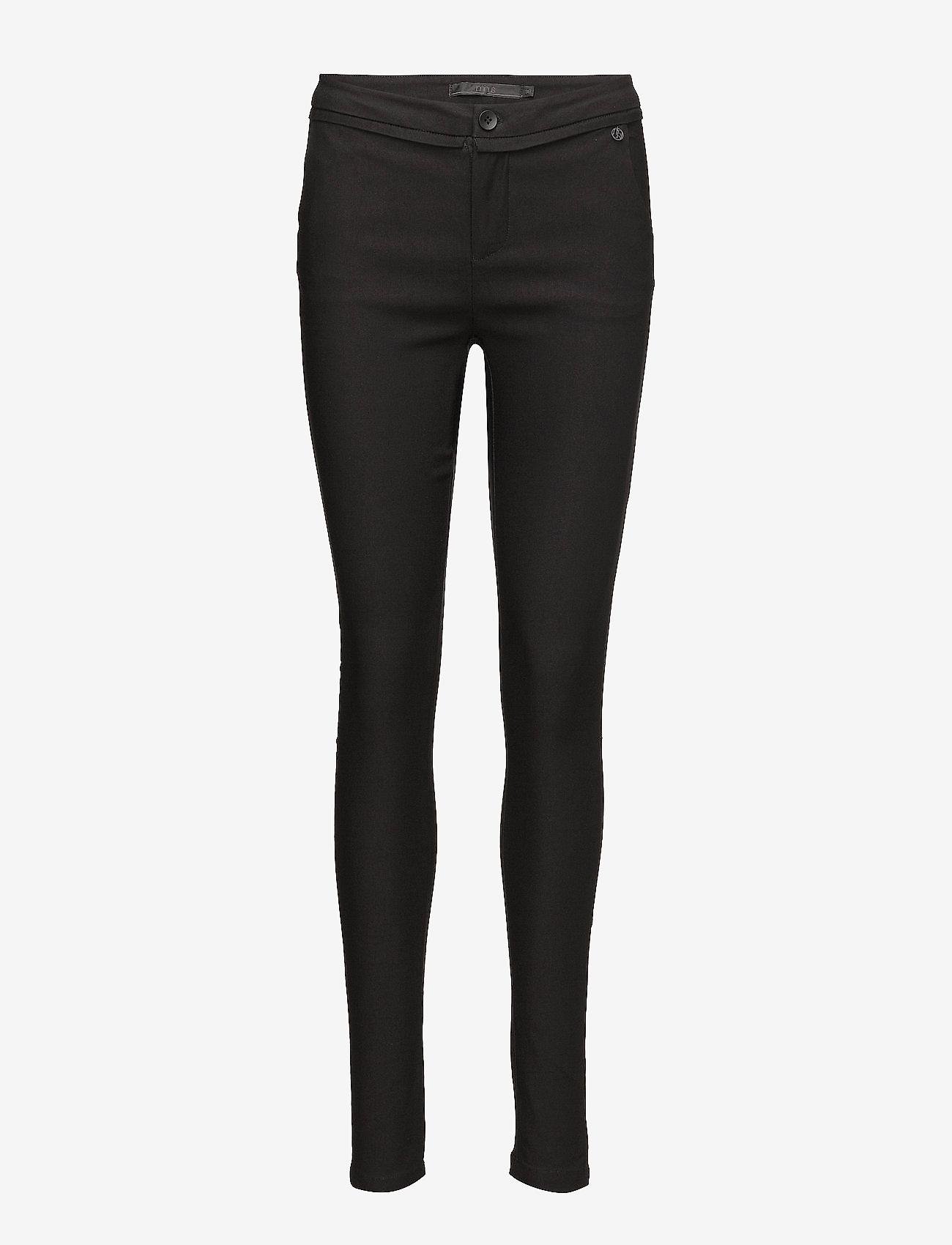 Minus - Carma Pants - broeken med skinny fit - sort - 0