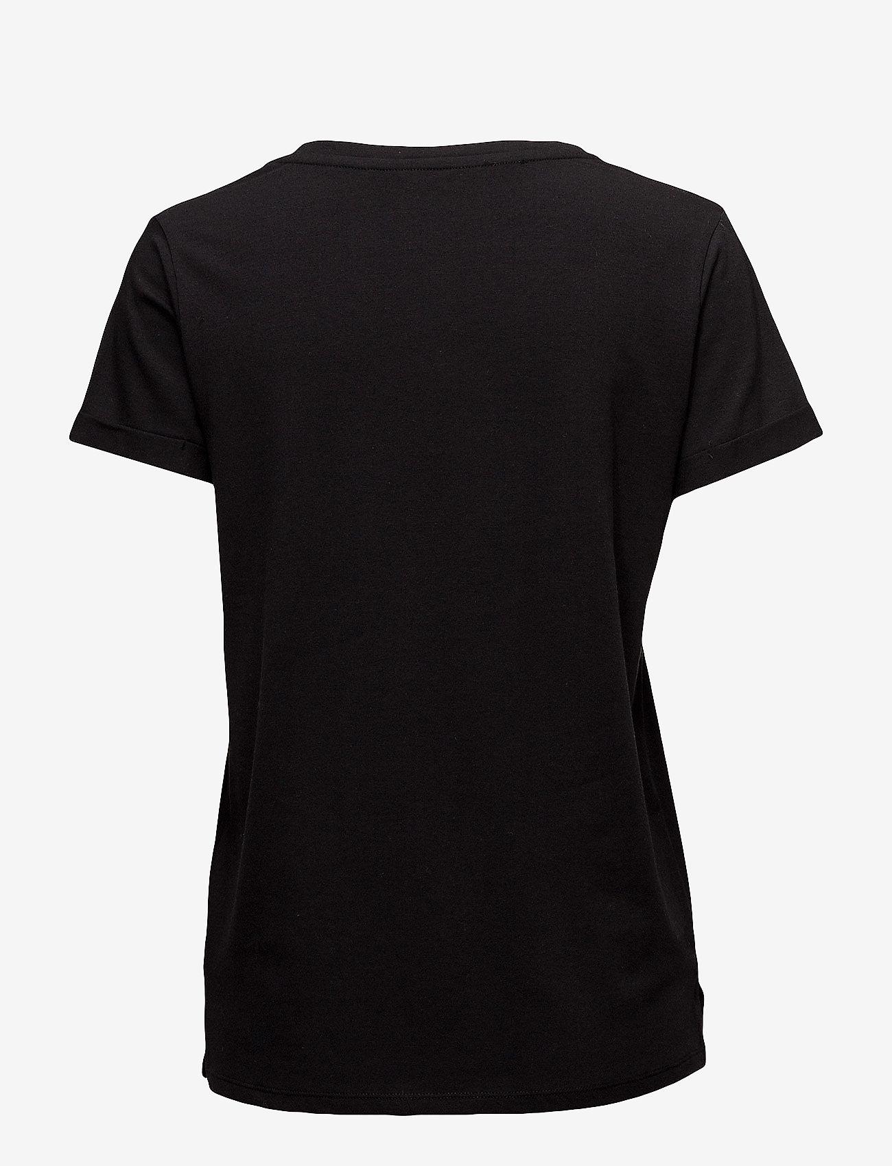 Minus - Adele tee - t-shirts - black - 1