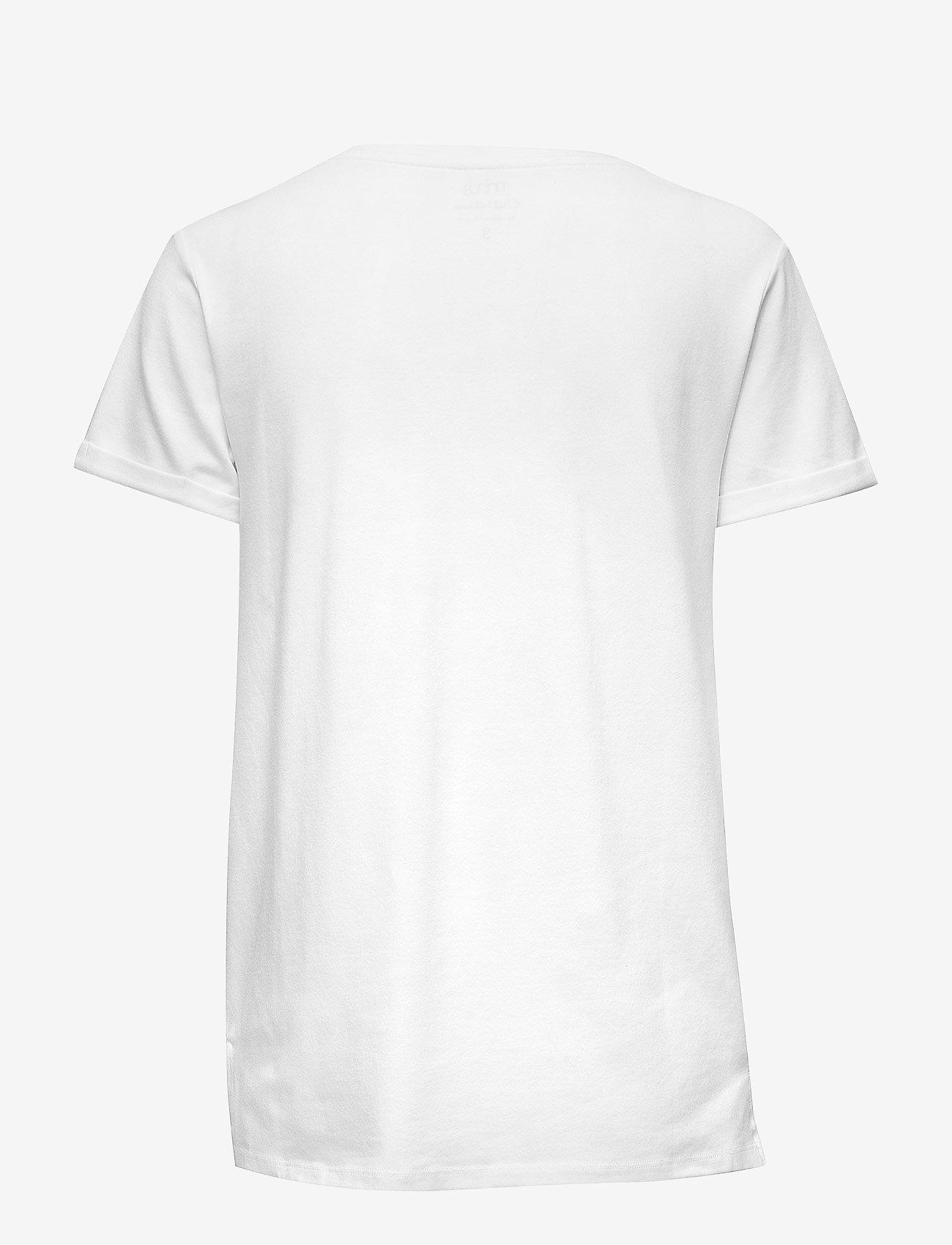 Minus - Adele tee - t-shirts - white - 1