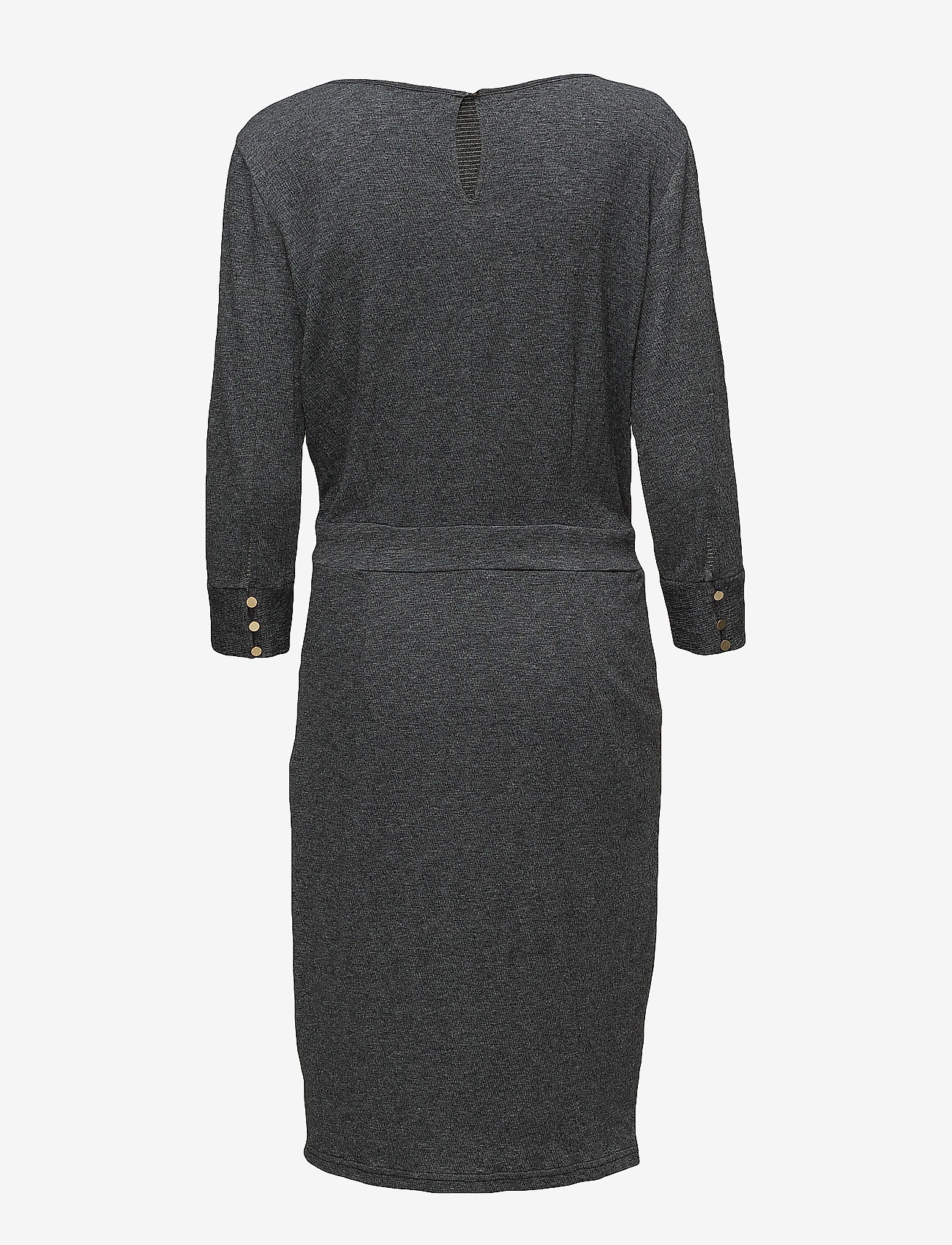 Minus Holly dress - Dresses RAVEN GREY MELANGE