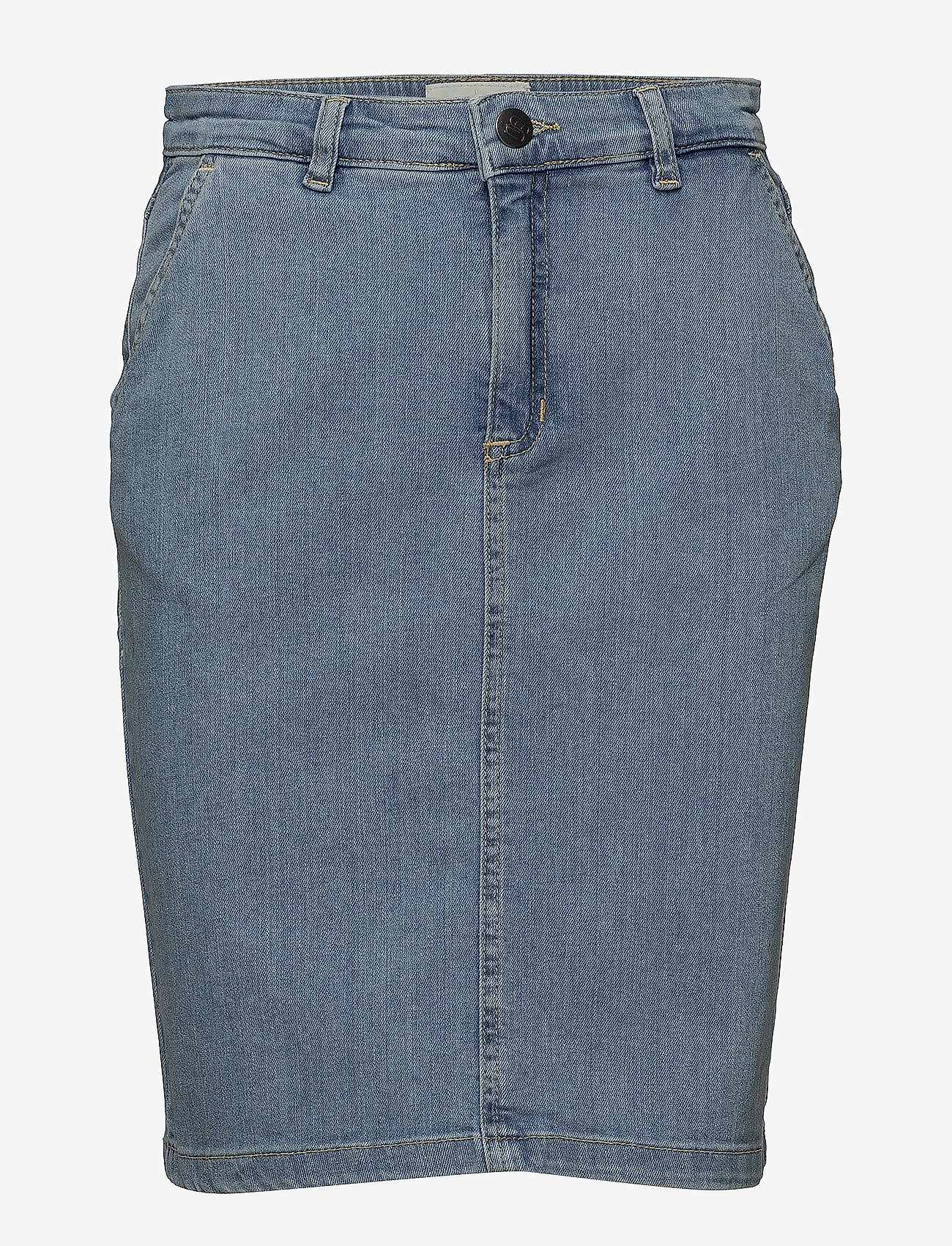 Minus - Grace skirt - denimnederdele - denim - 0