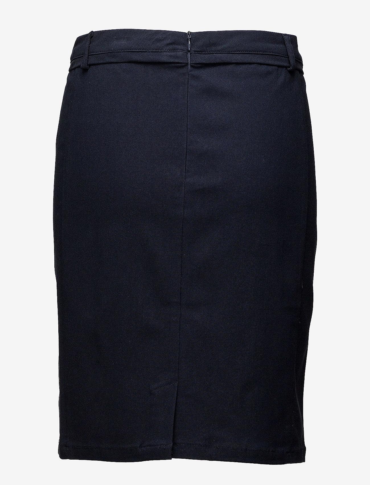 Minus - Carma skirt - midinederdele - black iris - 1