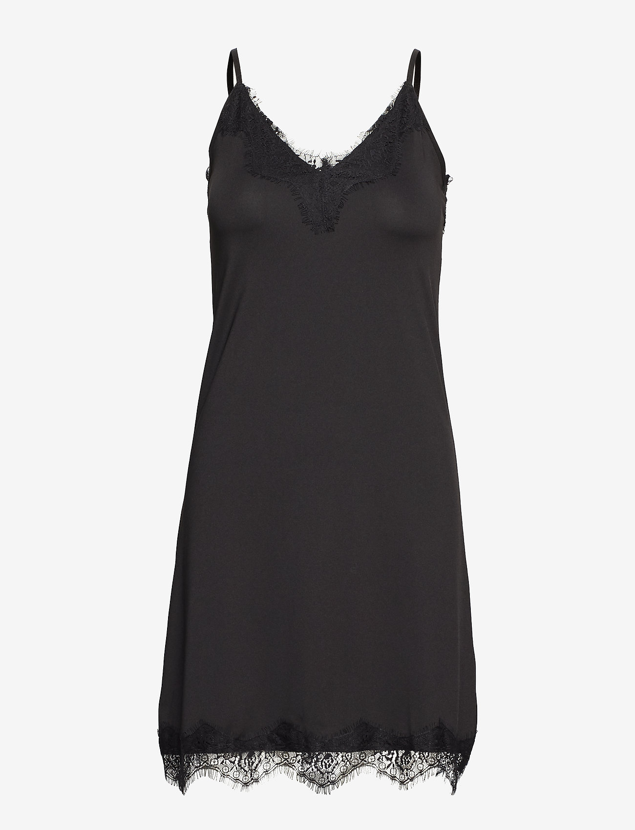 Minus - Asa slipover dress - bodies & slips - black - 0