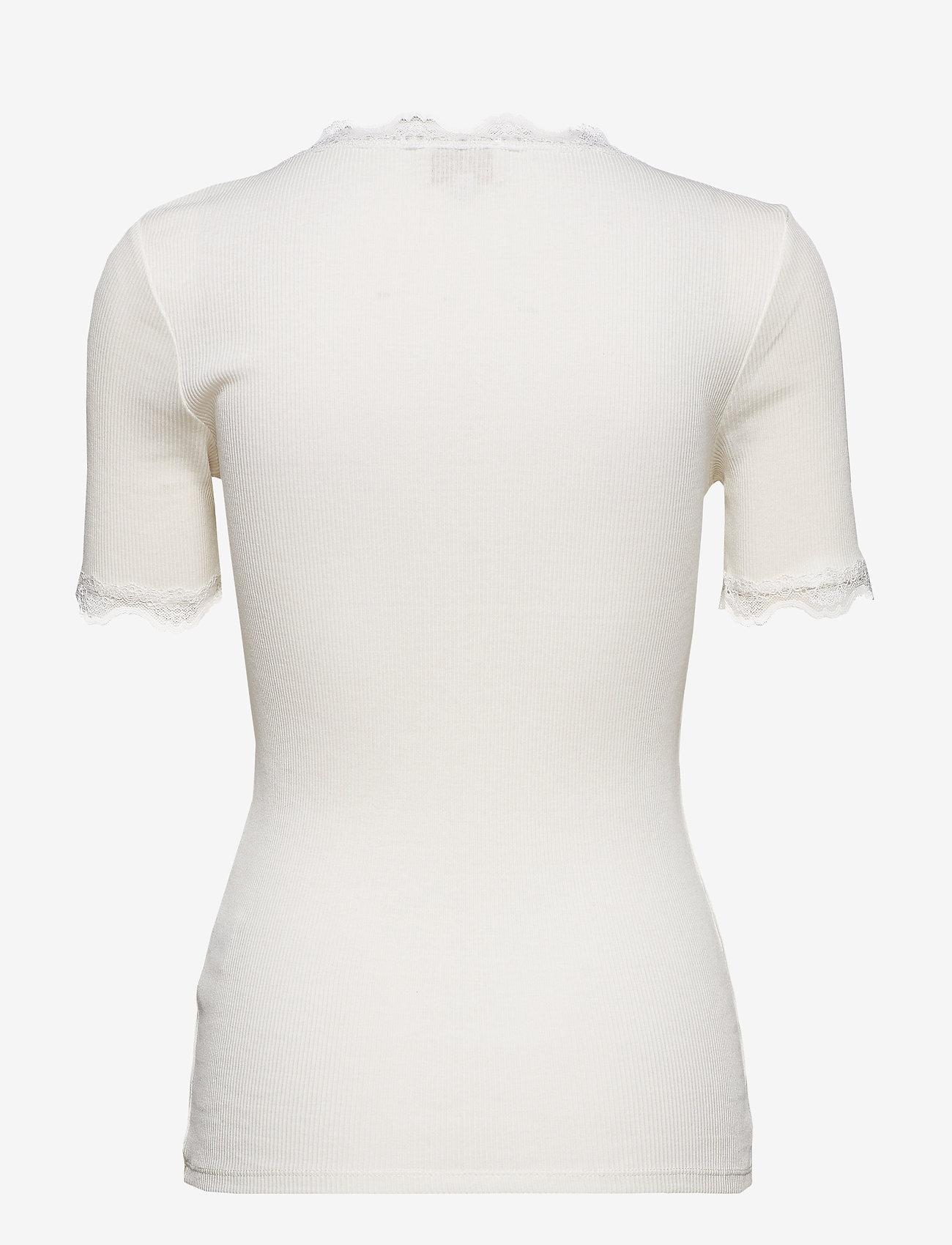 Minus - Ariel short sleeve - basic t-shirts - broken white - 1