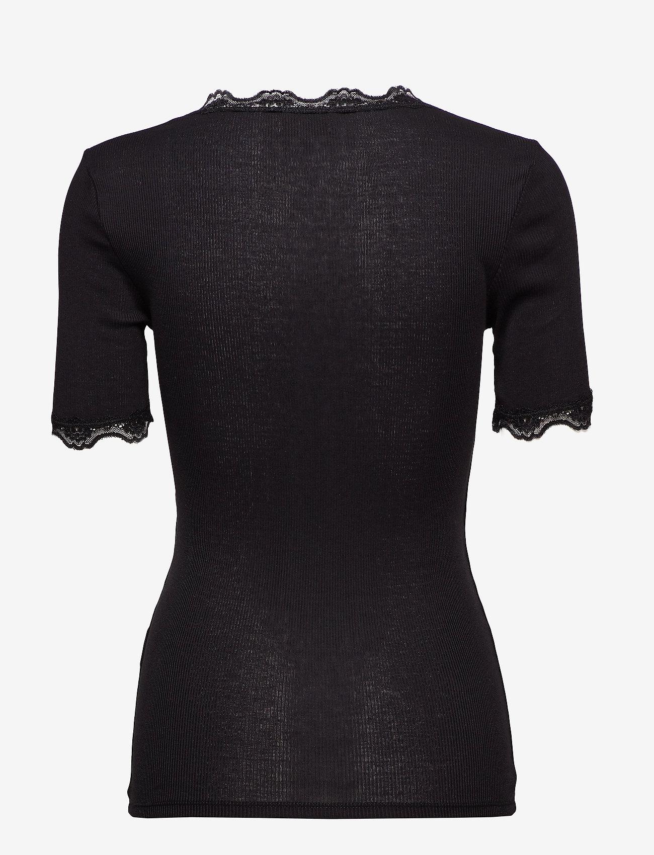 Minus - Ariel short sleeve - basic t-shirts - sort - 1