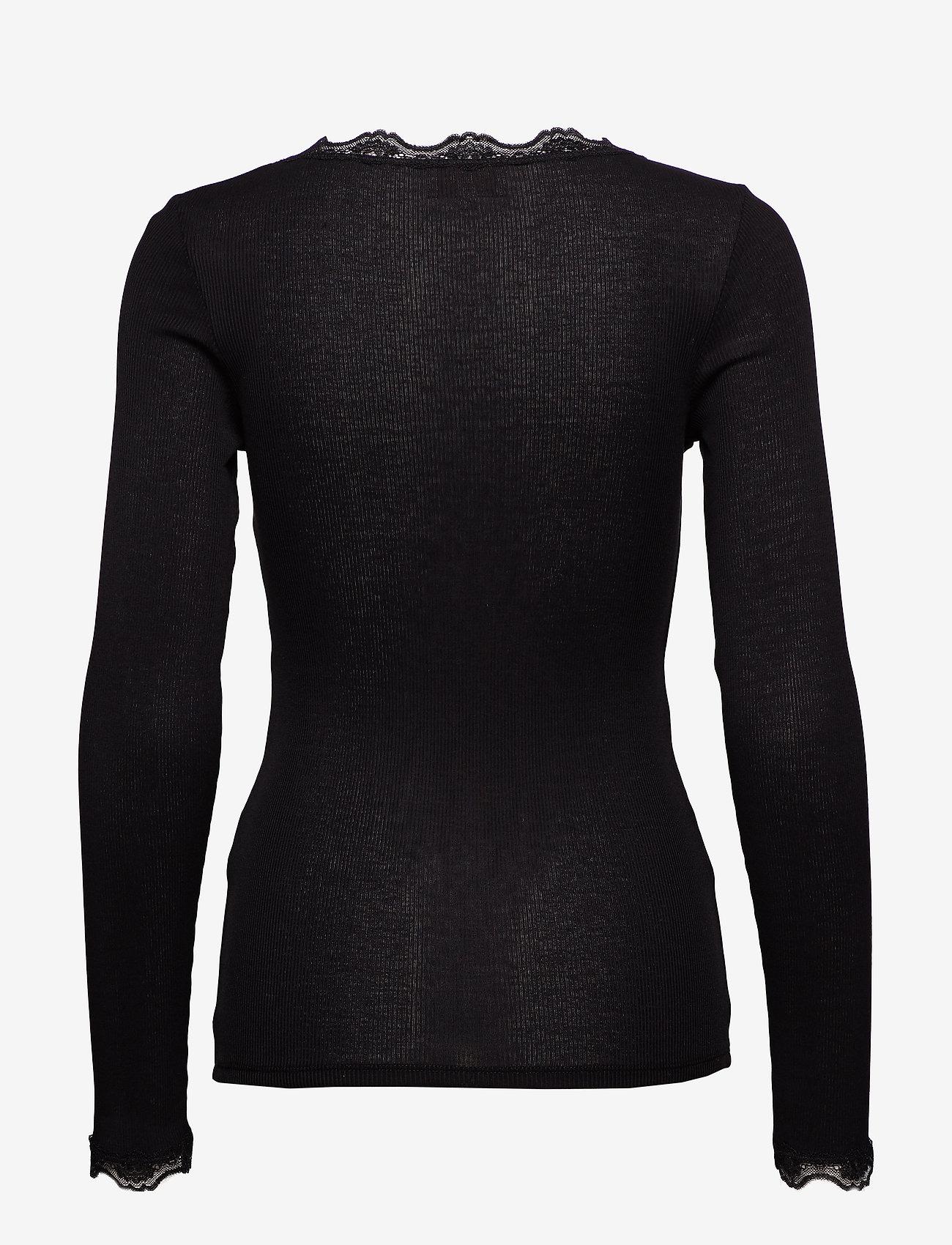 Minus Ariel Long Sleeve - T-shirts & Toppar Black