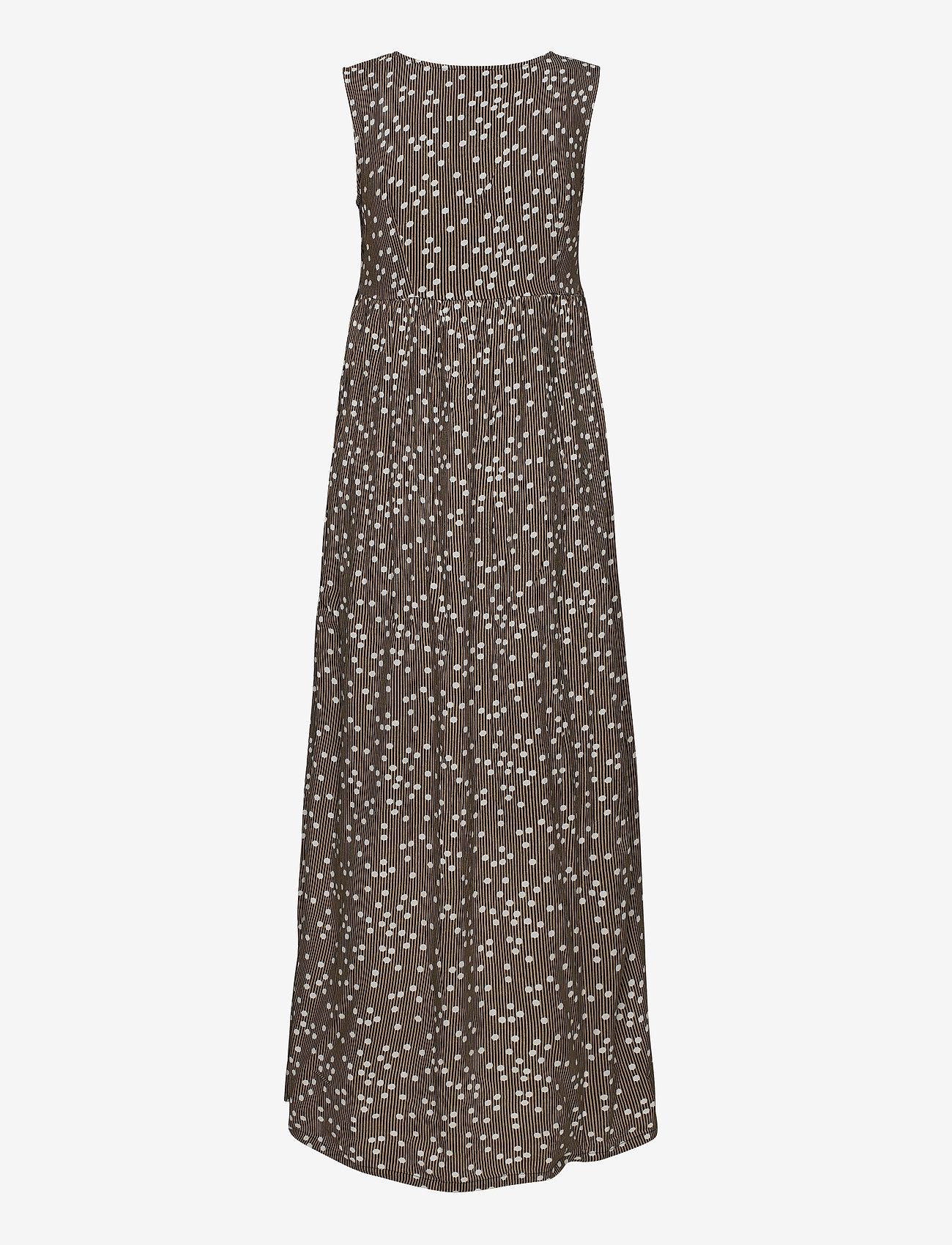 Minus - Adaline dress - sommerkjoler - striped dot - 1