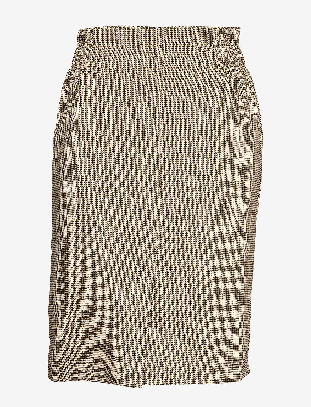 Minus - Lay skirt - midi skirts - houndstooth check - 0