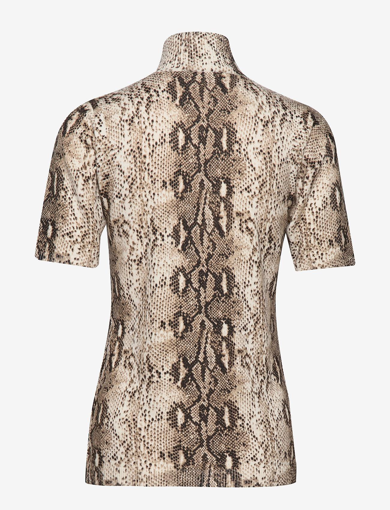 Minus Lima snake roll neck - Bluzki & Koszule SNAKE PRINT - Kobiety Odzież.