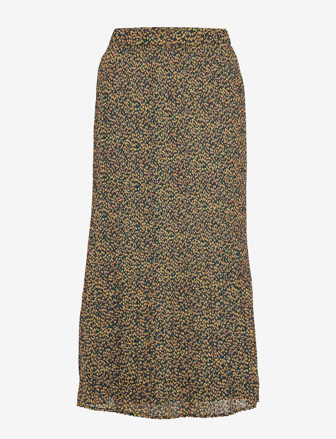 Minus - Rikka long skirt - maxi nederdele - flower field print - 0