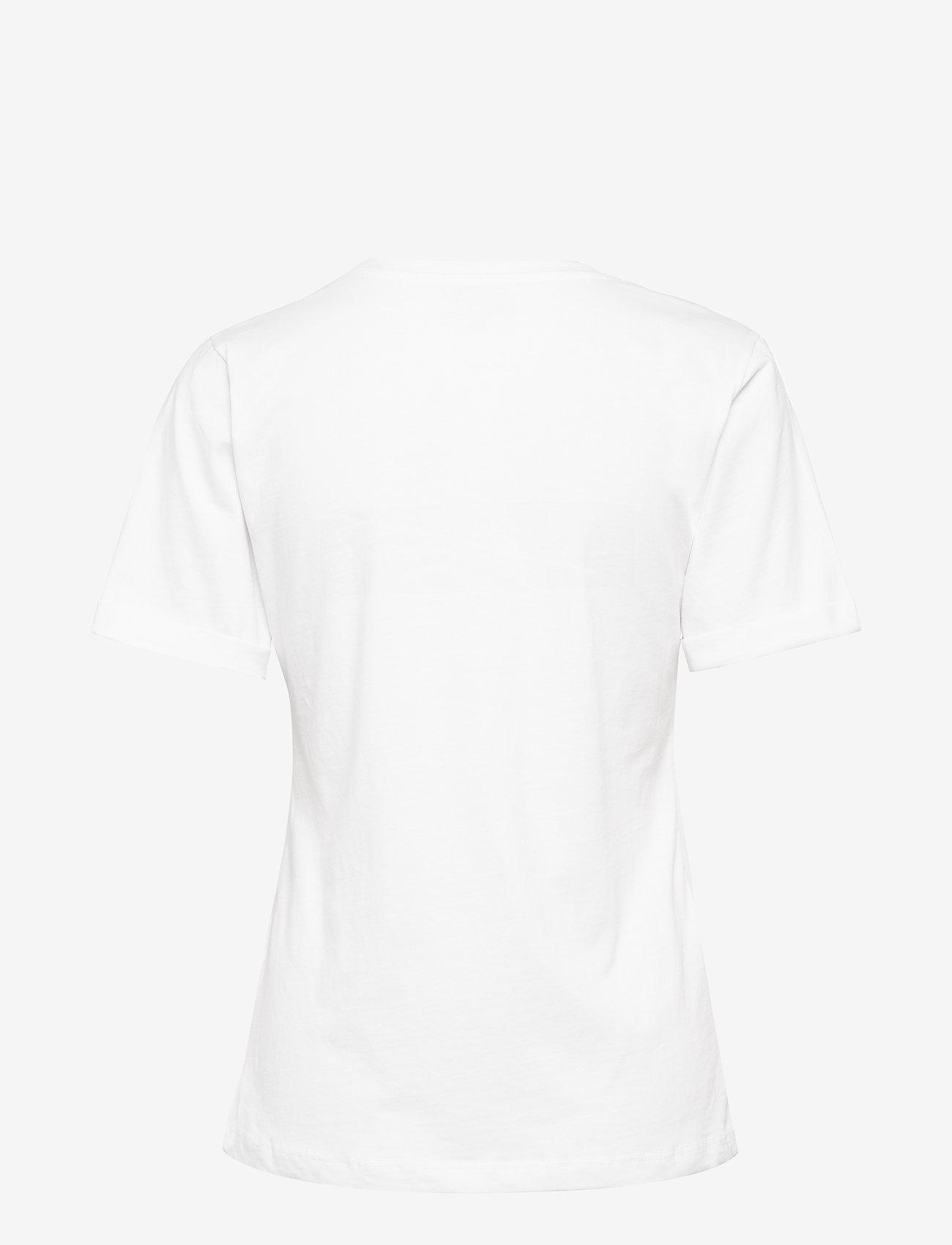 Minus - Lovisa tee - t-skjorter med trykk - white - 1