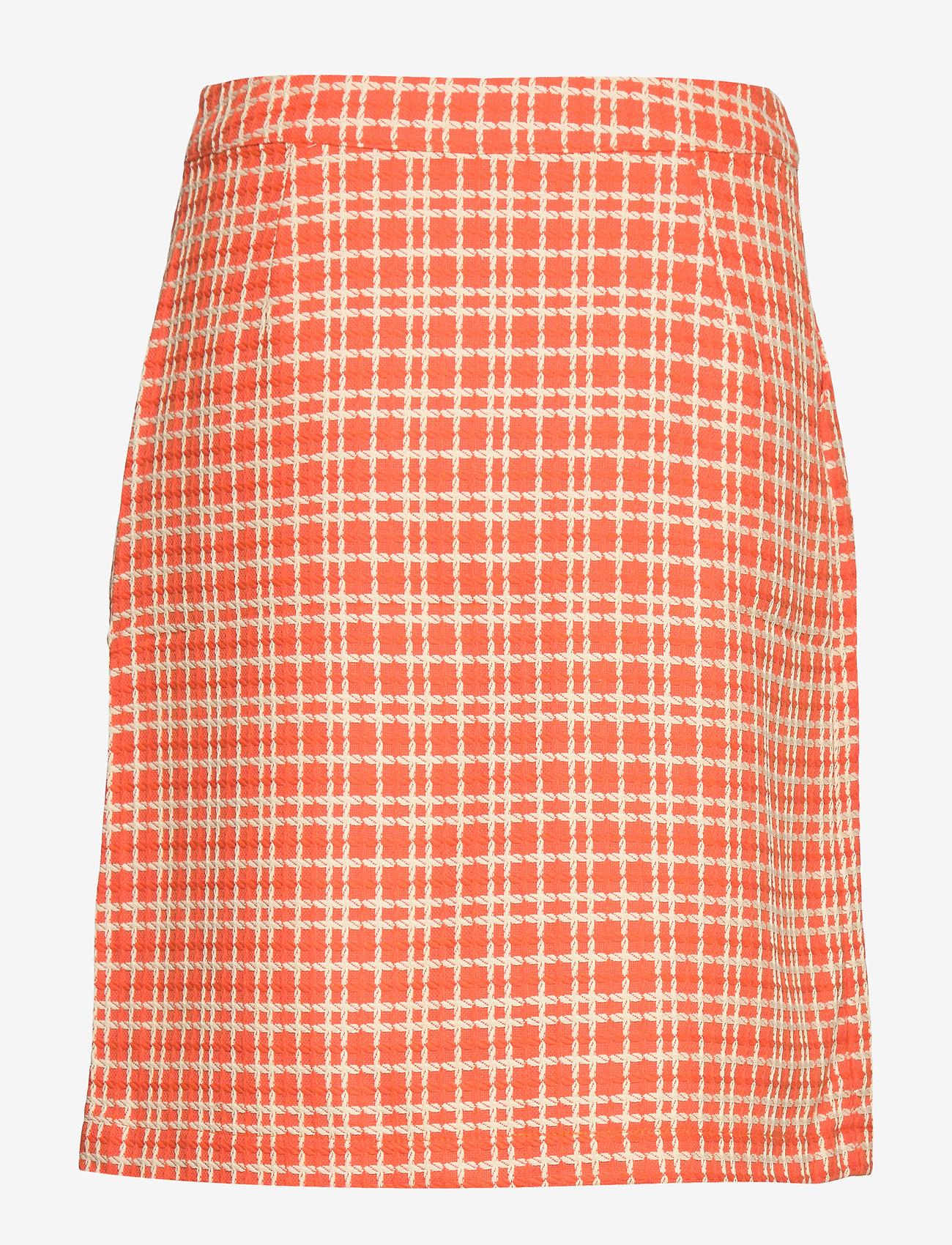Minus - Nanja skirt - jupes courtes - chili checked - 1