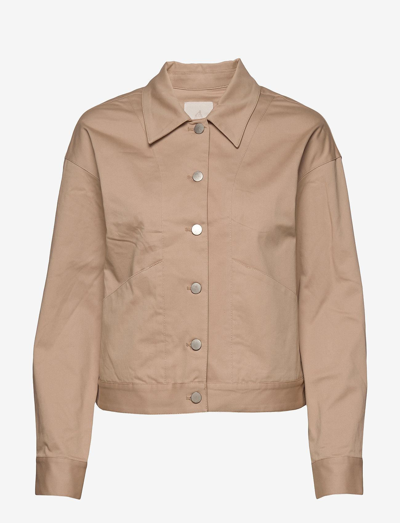 Minus - Calina jacket - lichte jassen - nomad sand - 0