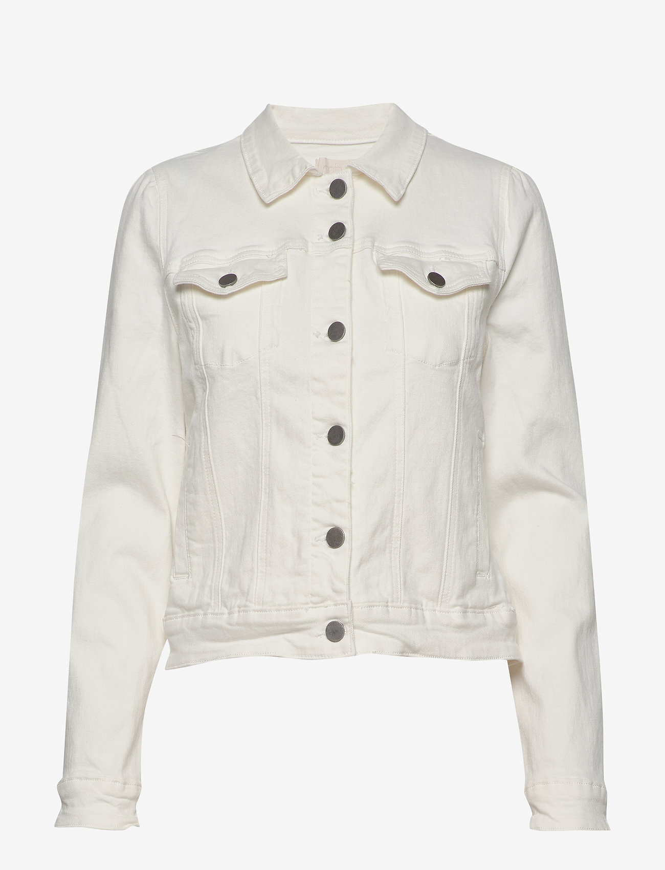 Minus - Gigi jacket - jeansjakker - cloud dancer - 1