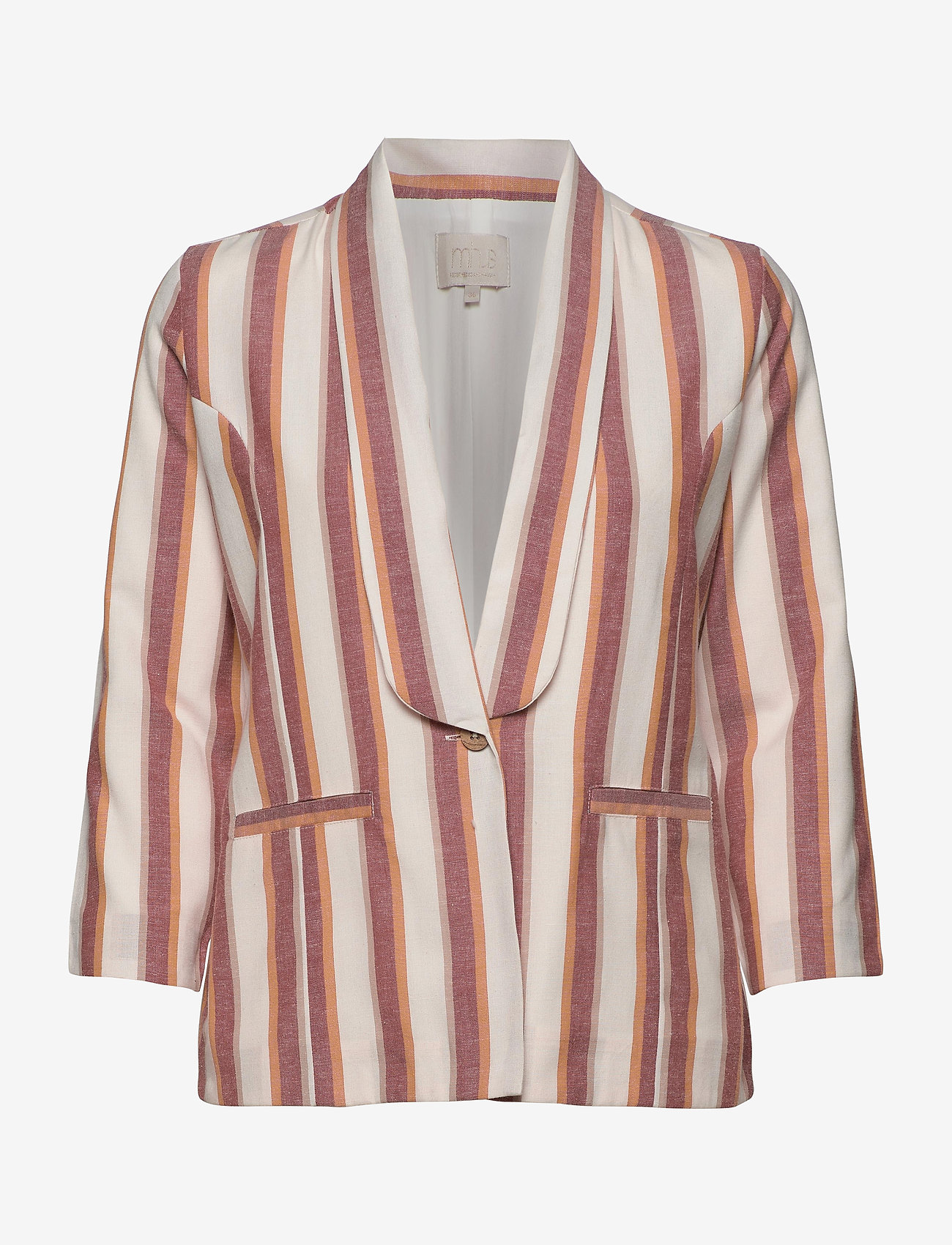 Minus - Mickie blazer - blazers - mineral red stripes - 0