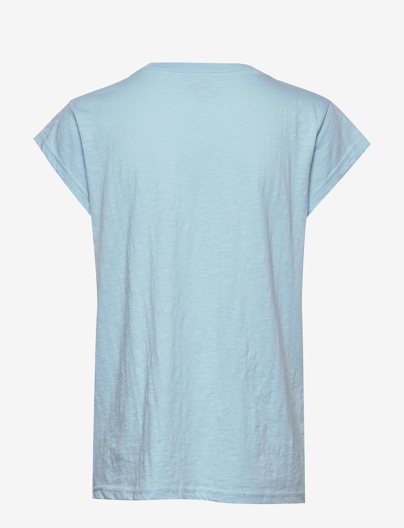 Minus - Leti tee - t-shirts - bounty blue - 1