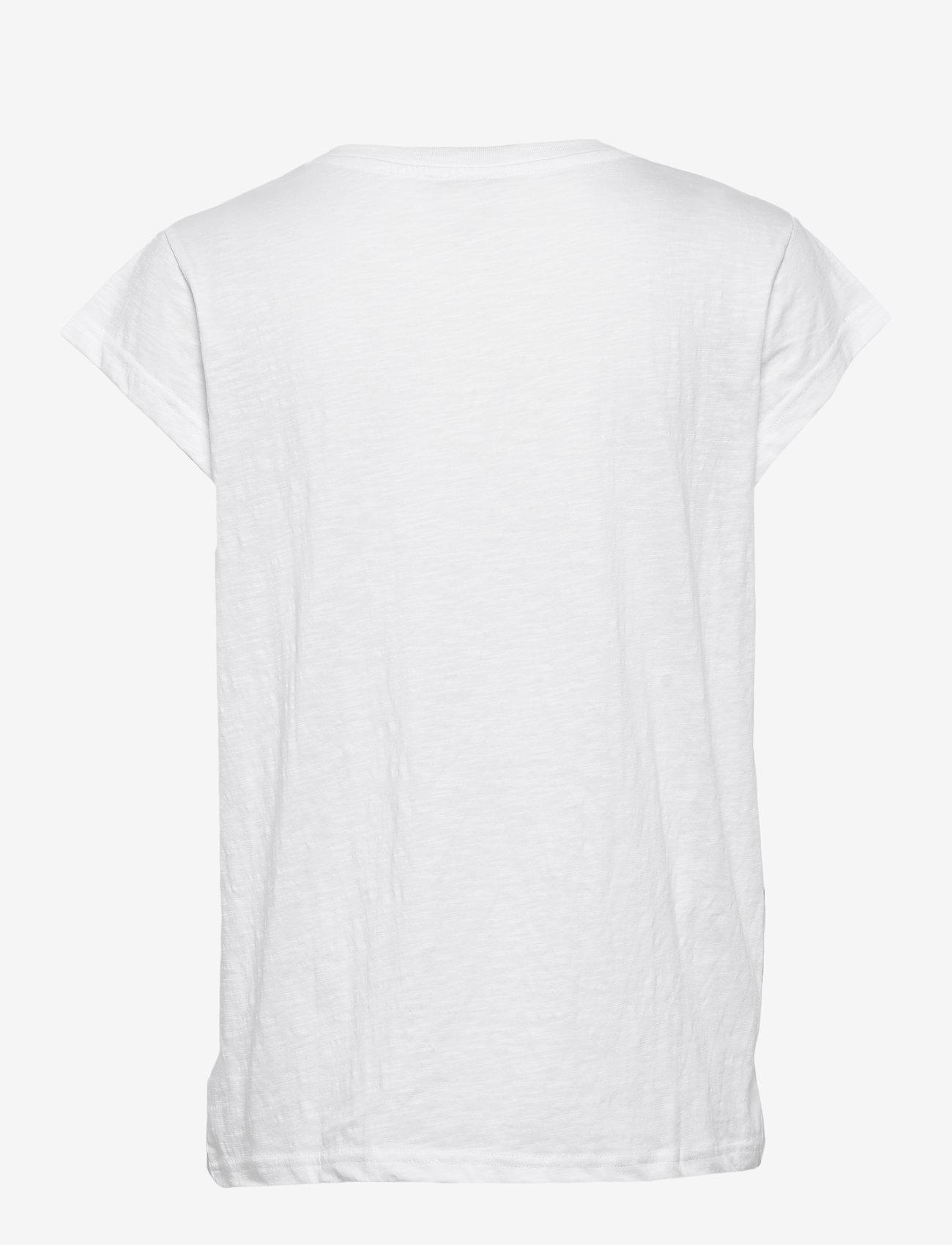 Minus - Leti tee - t-shirts - white - 1
