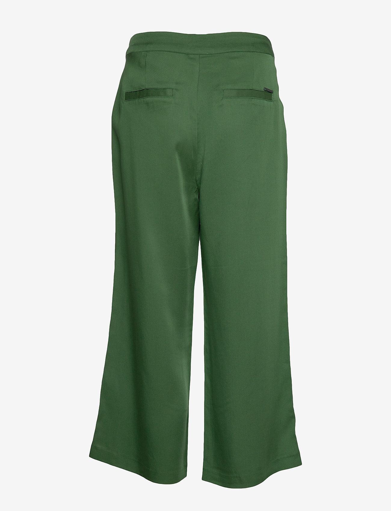 Minus - Emissa pants culotte - bukser med brede ben - palm tree - 1