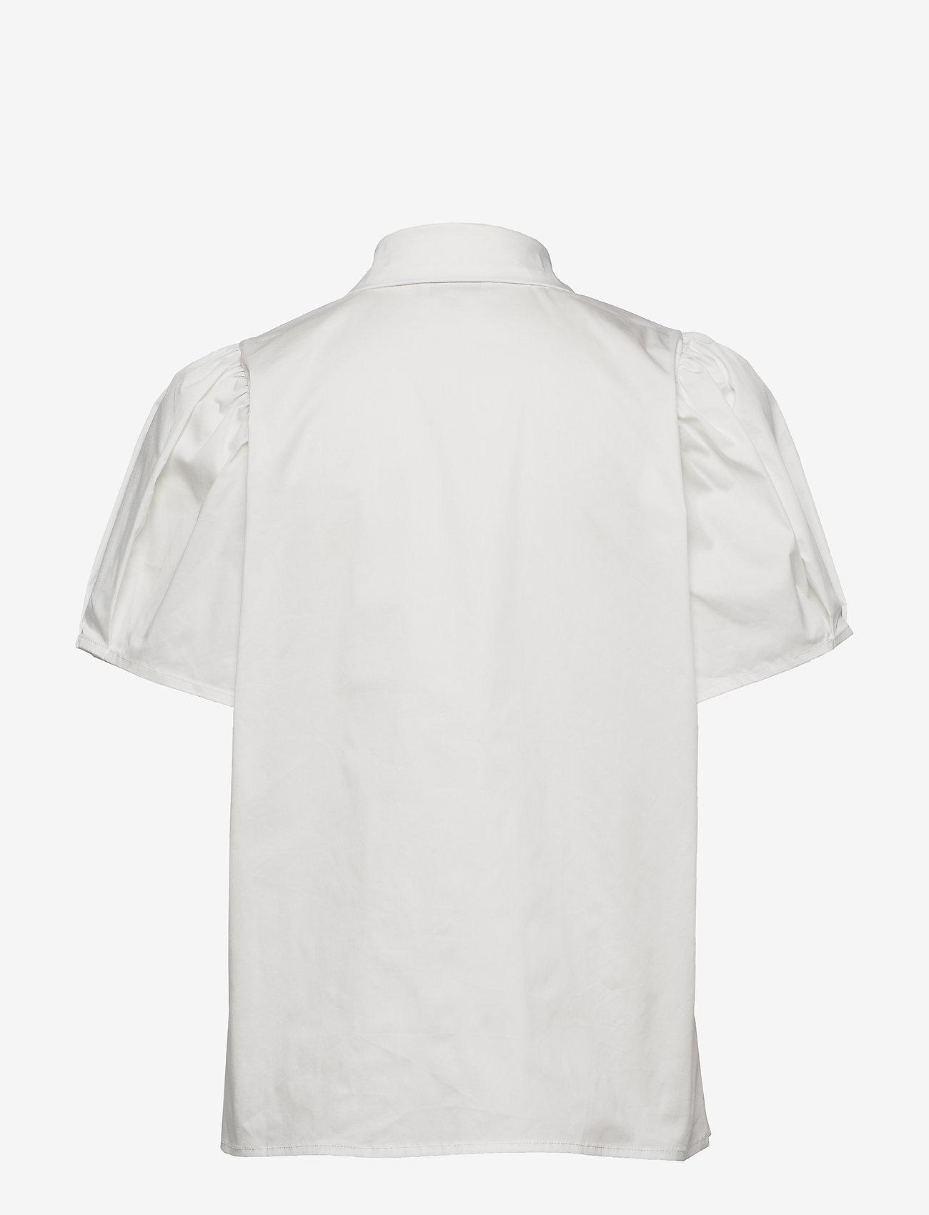 Minus - Elaisa shirt - chemises à manches courtes - cloud dancer - 1