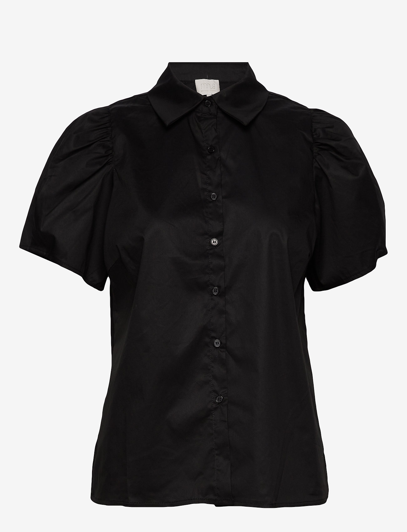 Minus - Elaisa shirt - koszule z krótkim rękawem - sort - 0