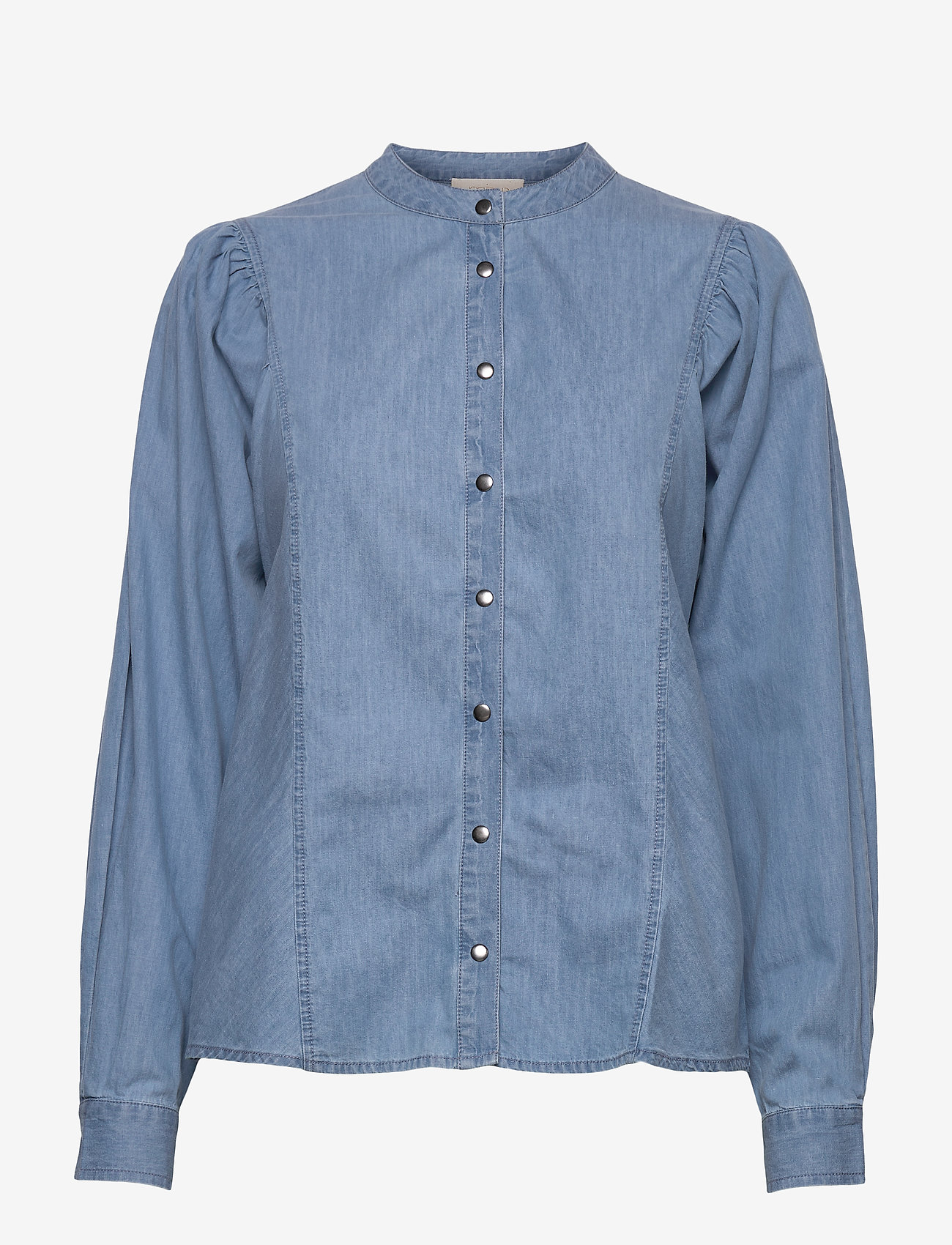 Minus - Camil shirt - jeansblouses - denim - 0