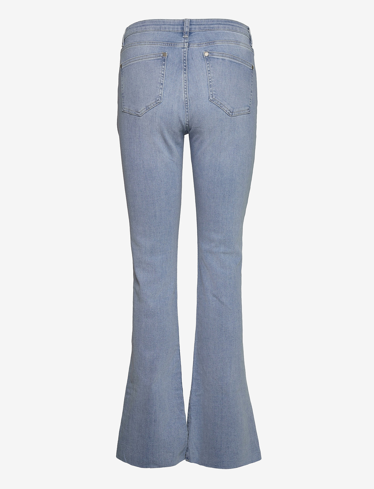 Minus - New enzo jeans - schlaghosen - light denim - 1
