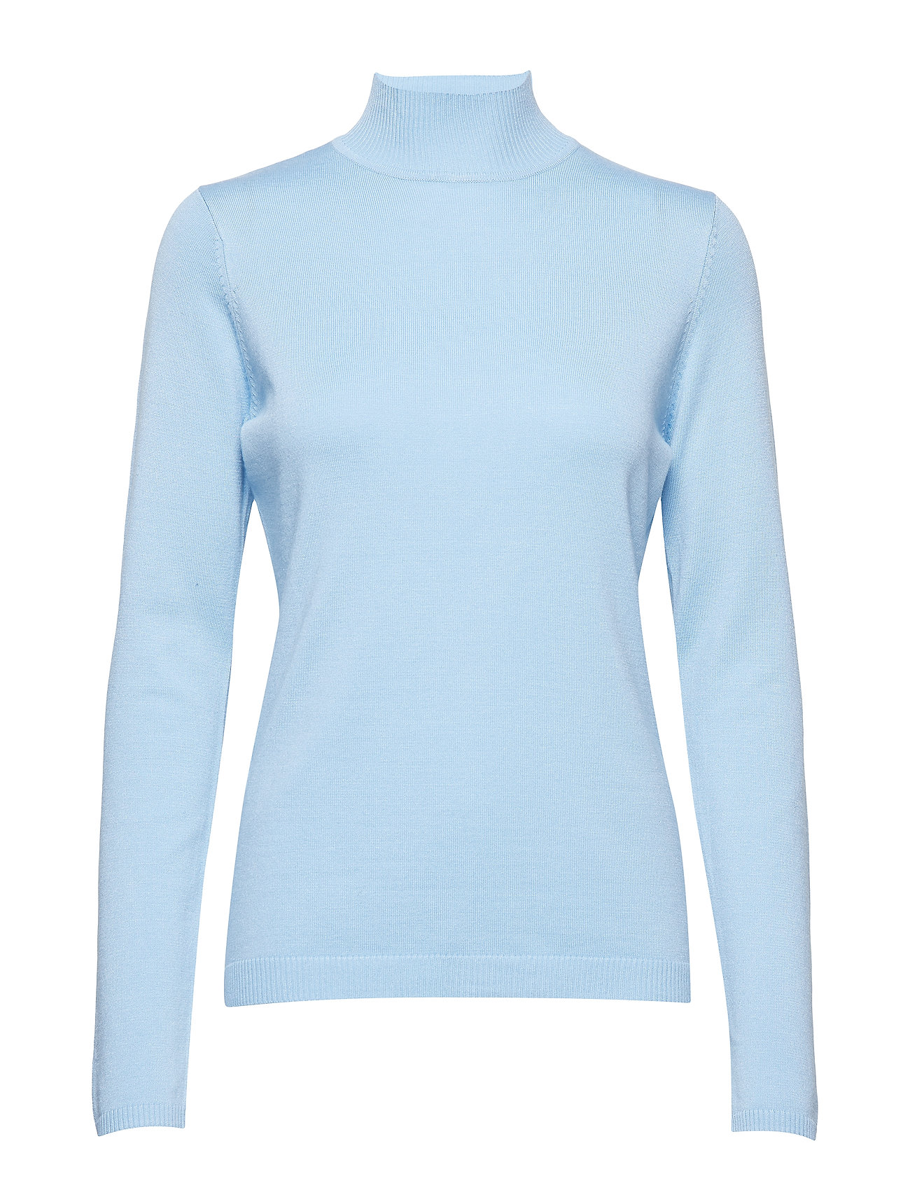Minus Lana roll neck knit - ICY BLUE