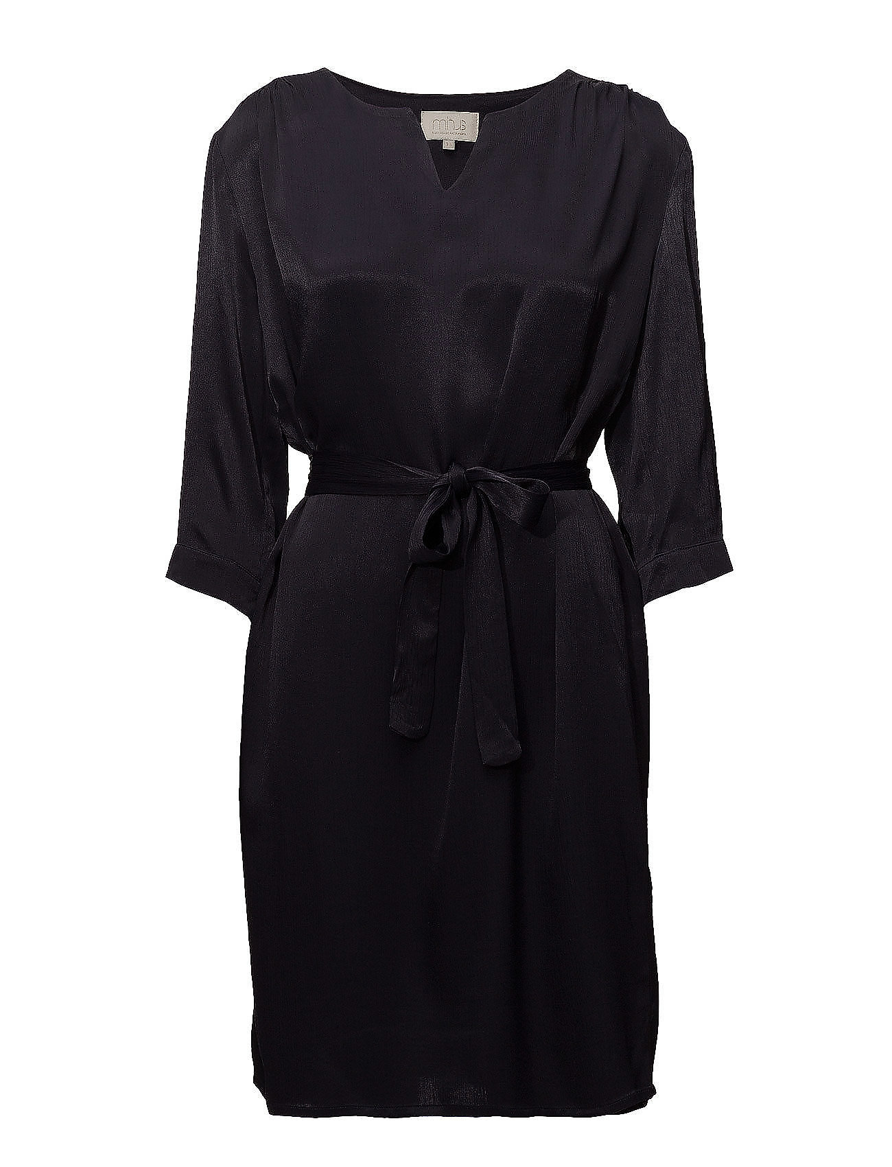 Minus Agnete dress - BLACK IRIS