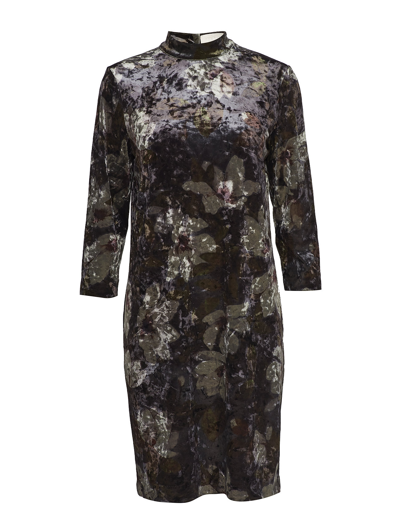 Minus Riba dress - VELOUR FLOWER PRINT