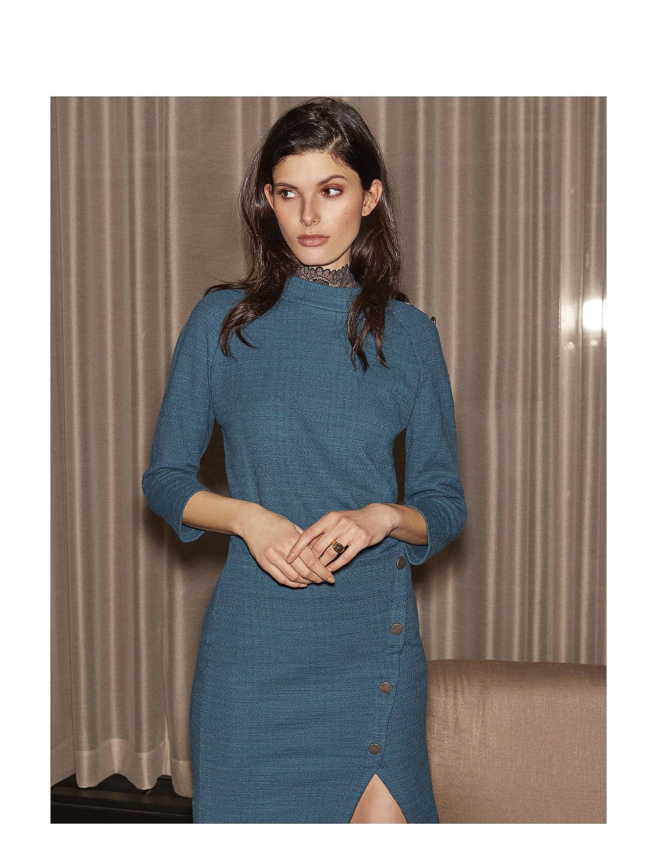 Image of Tiga Dress Knælang Kjole Grå MINUS (3067507209)