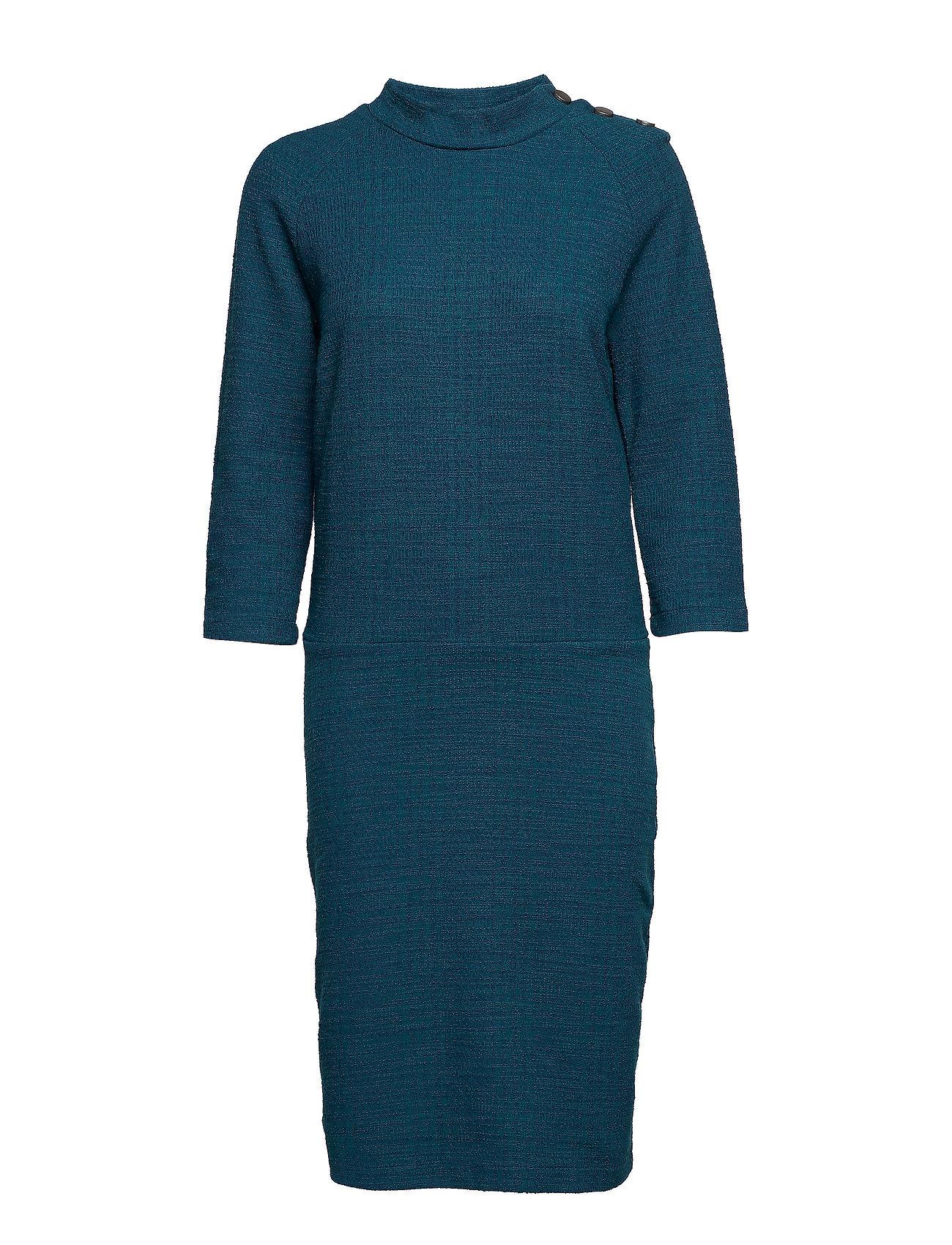 Image of Tiga Dress Knælang Kjole Blå MINUS (3067507201)