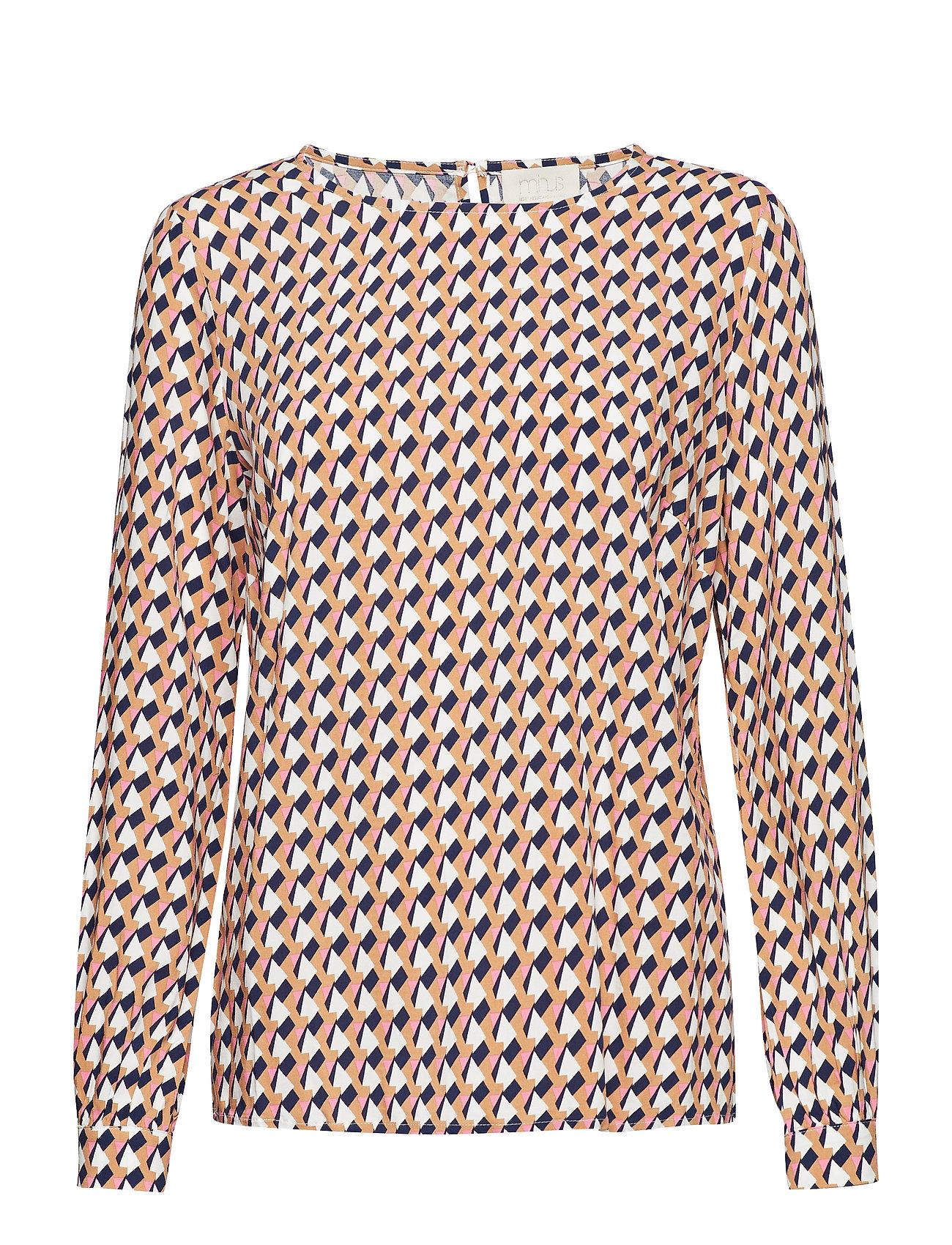 Minus Noelle blouse - PEAK PRINT ALMOND