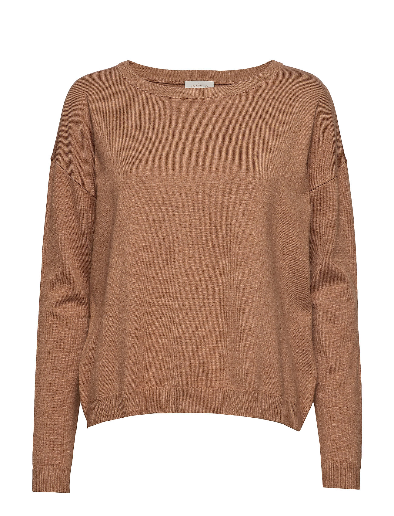 Minus Elne knit - TOBACCO MELANGE
