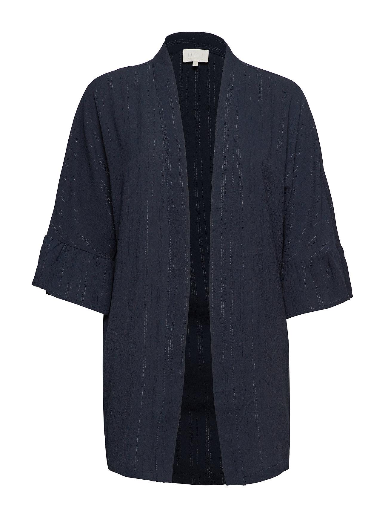Minus July kimono - BLACK IRIS