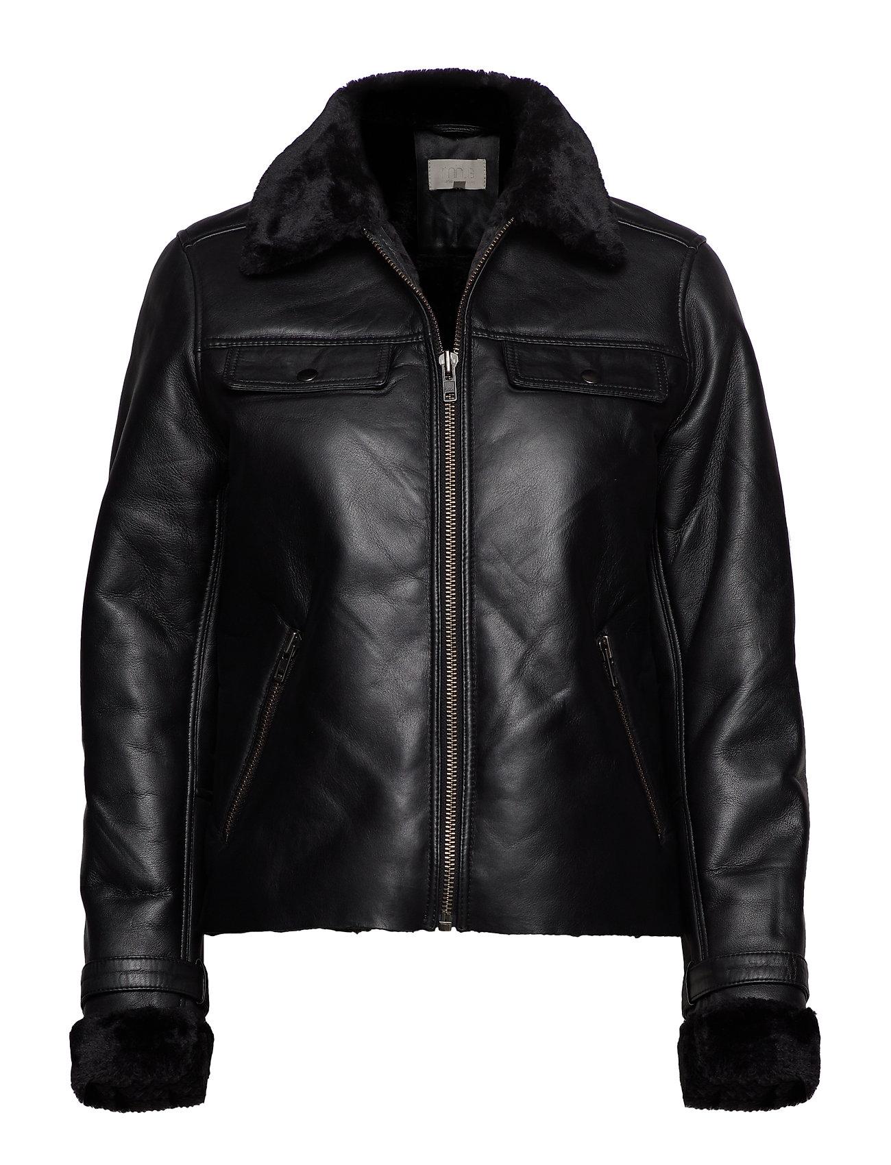 Minus Angella jacket - SORT
