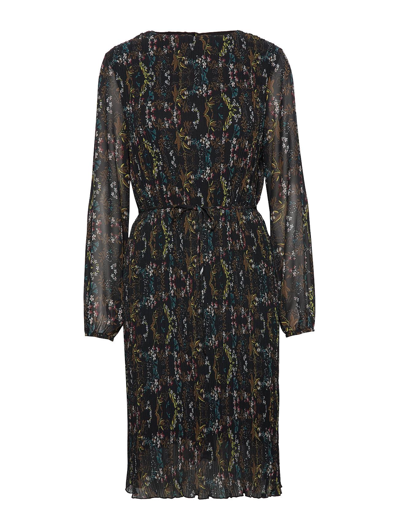 Minus Cynthia dress - PLEATED FLOWER PRINT