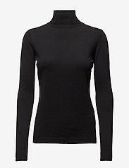 Minus - Lana roll neck knit - turtlenecks - black - 2
