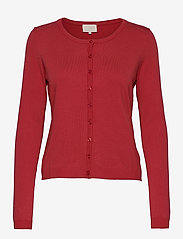 New Laura cardigan - BERRY RED