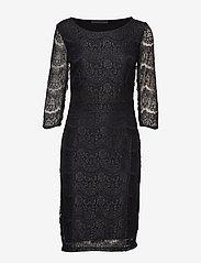 Minus - Anastacia dress - bodycon-kjoler - black - 0
